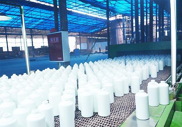 乳白玻璃瓶生产线