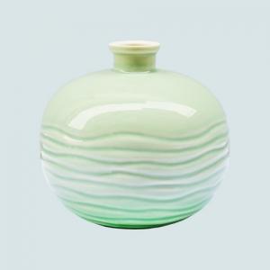 喷釉陶瓷酒瓶